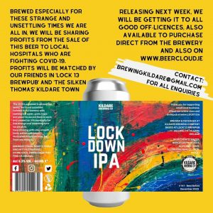 Kildare Brewing Lockdown IPA