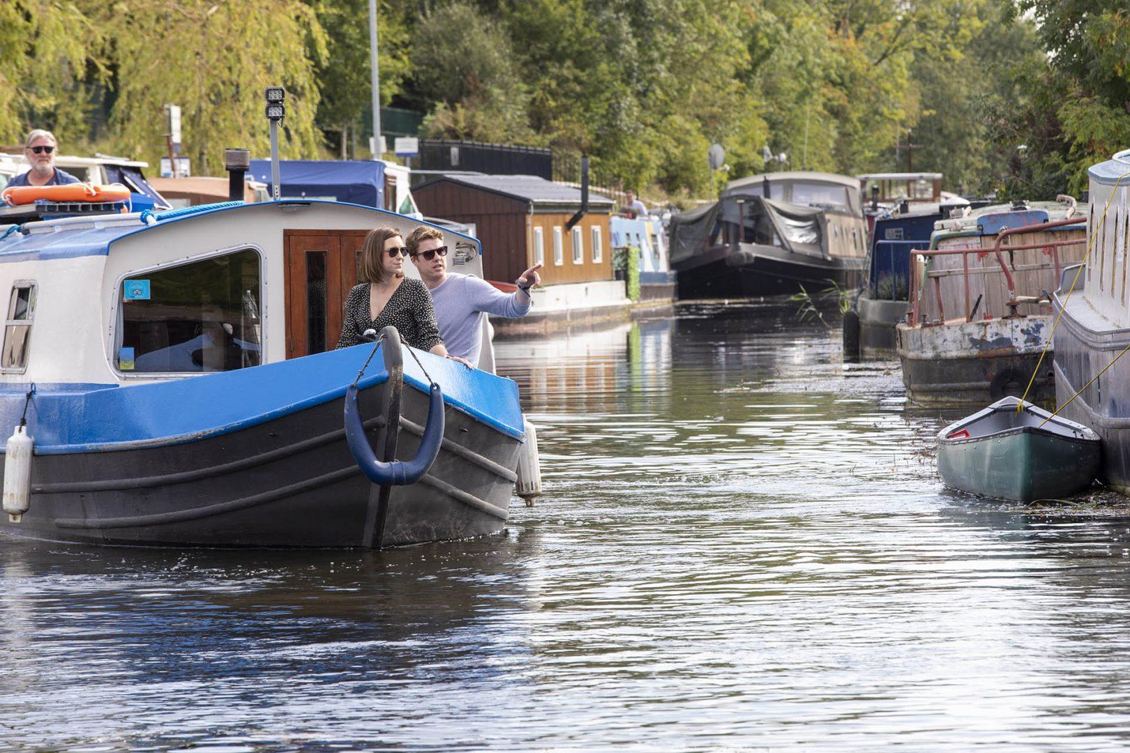 Romantic Barge Trip
