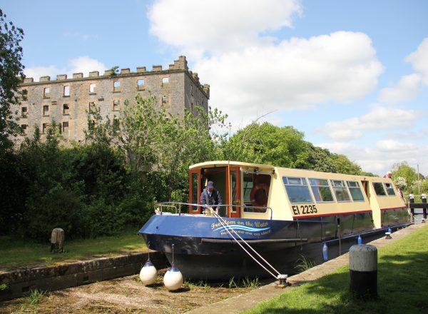 Athy Boat Tour Levistown-lock-Boat Kildare