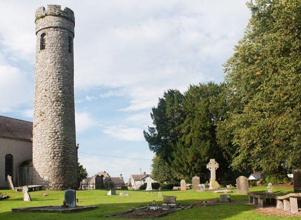 Castledermot Round Tower Kildare Monastic Trail