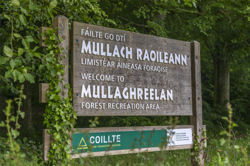 Mullaghreelan Woods Sign