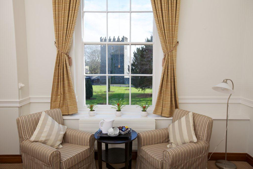 Lc Regular Ensuite Armchairs At Window, View Of Coi