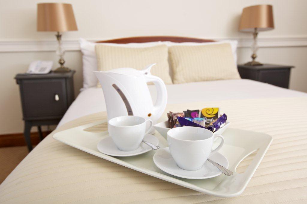 Lc Regular Ensuite Tea Service On Bed