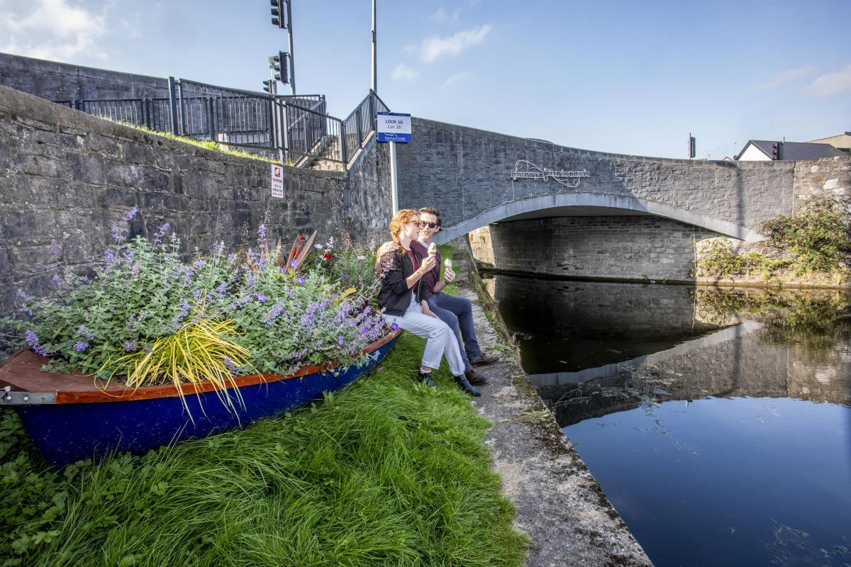 Royal Canal Greenway - Kilcock Harbour